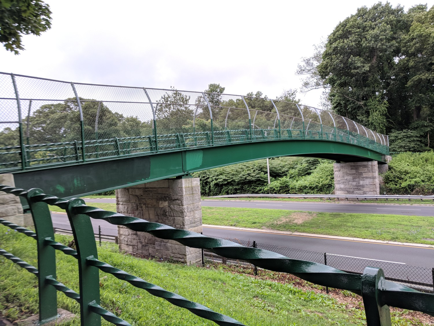 "The overpass crossing Peninsula Boulevard and leading to Hempstead Lake State Park is known as ""the bridge."" Once notorious as the meeting point for teenagers looking to drink alcohol, police say the area has calmed down."