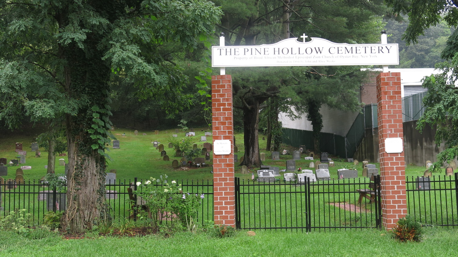 Pine Hollow Cemetery, in Oyster Bay, is now included in the National Registry of Historic Places.