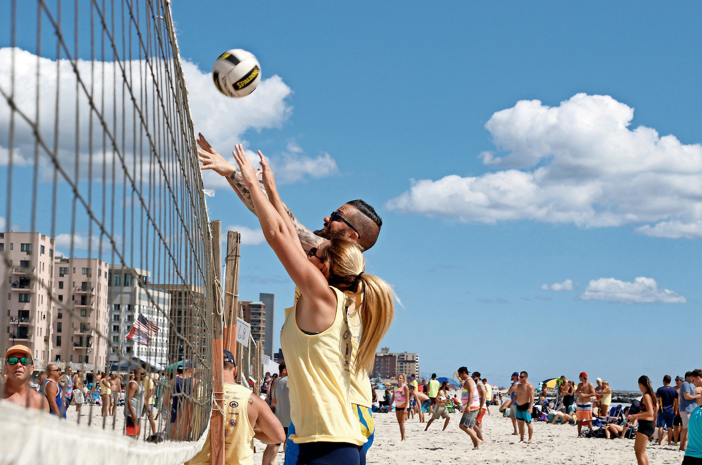 Organizers of special events, including the Michelle O'Neill Volleyball Tournament, said that the discussion of increasing permit fees, as well as a proposal to reimburse the city, have cast a pall over preparations for this year's events.