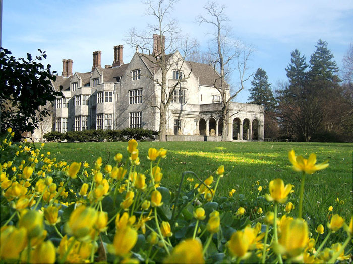 The Tudor Revival mansion is considered one of the most impressive residences in the region.