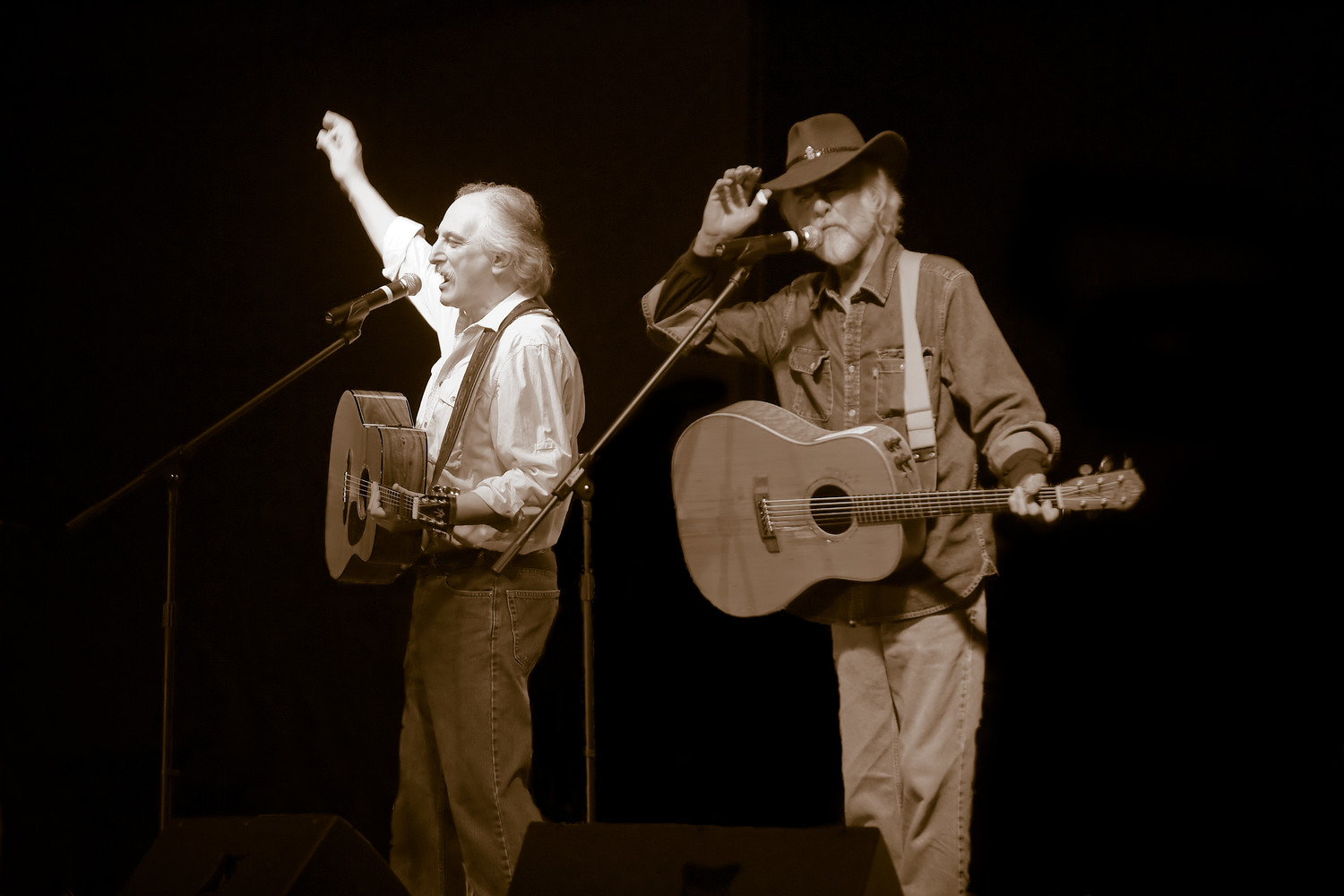 The folk rock duo Brewer & Shipley appear at  My Father's Place at the Roslyn Hotel, on Sept. 7.