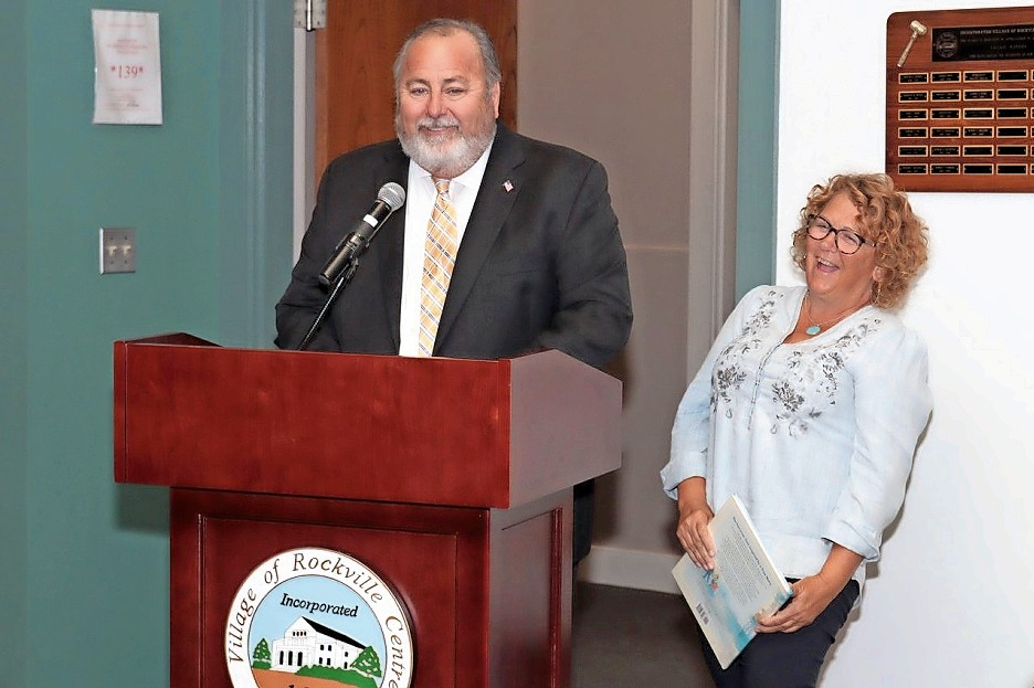 Ellen White, right, will be recognized by Mayor Francis X. Murray and other community leaders during the 31st annual Mayor's Golf Classic on Sept. 24.