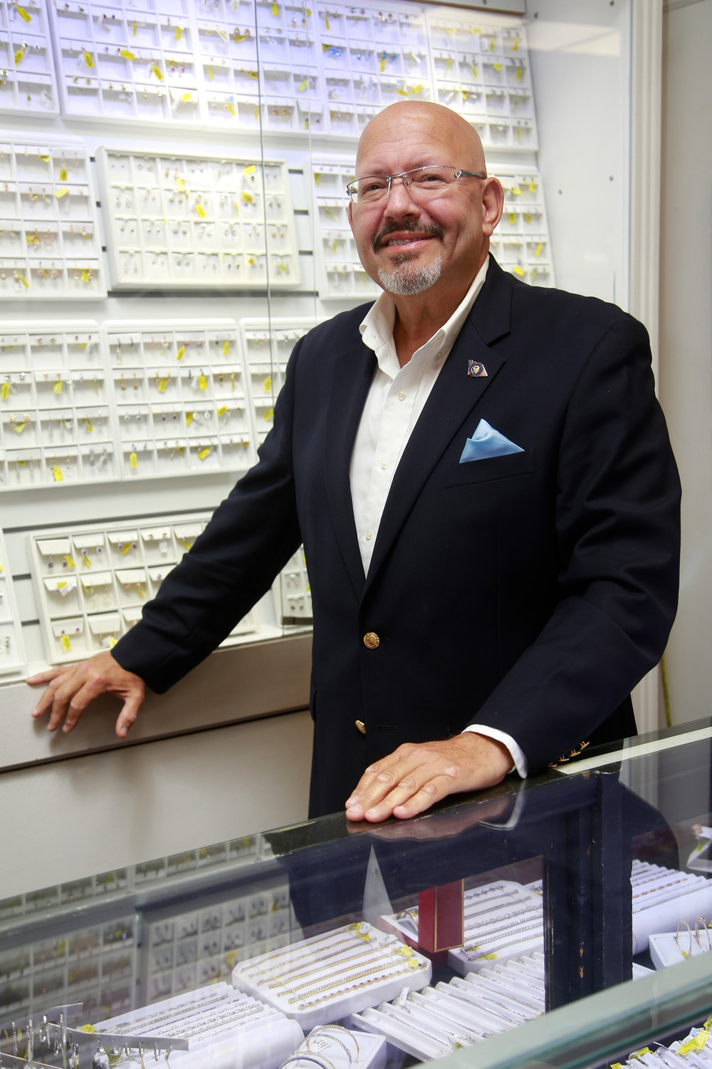 Gary Hudes is celebrating the 95th anniversary of Gennaro Jewelers.