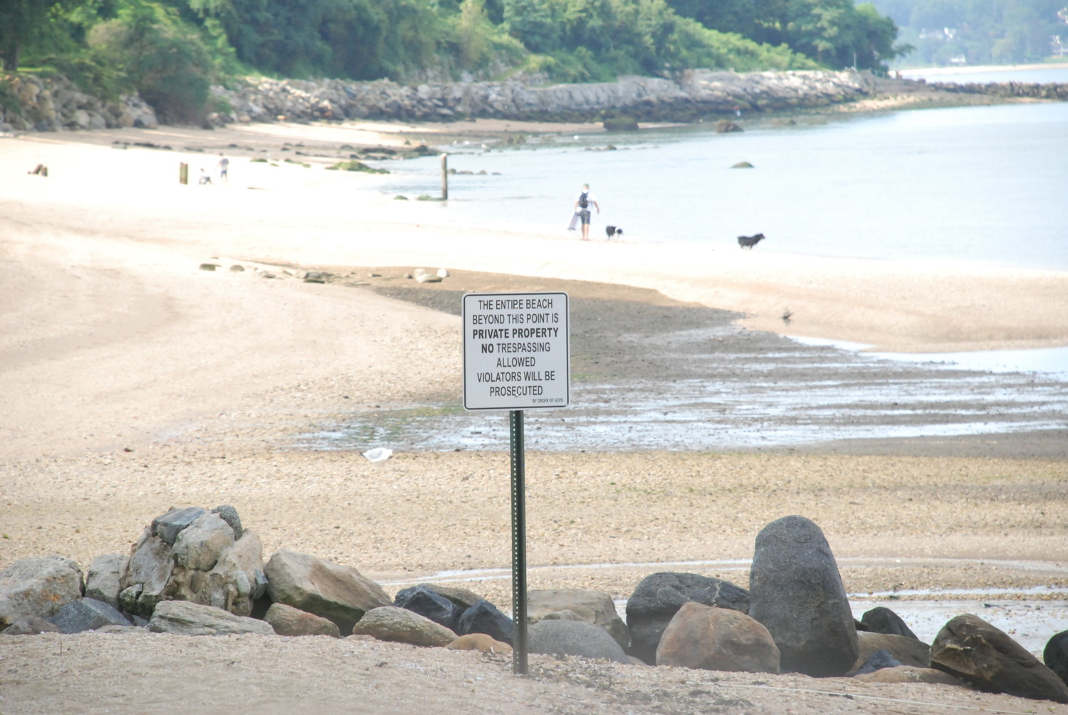 Crescent beach has been closed due to contaminants for nine years.