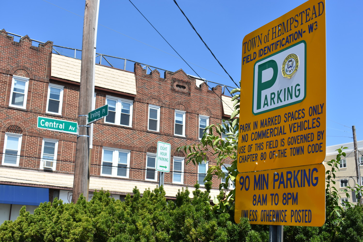 Businesspeople who work near the Town of Hempstead's parking field W-3 between Franklin and Irving places in Woodmere are seeking more long-term parking in the lot.