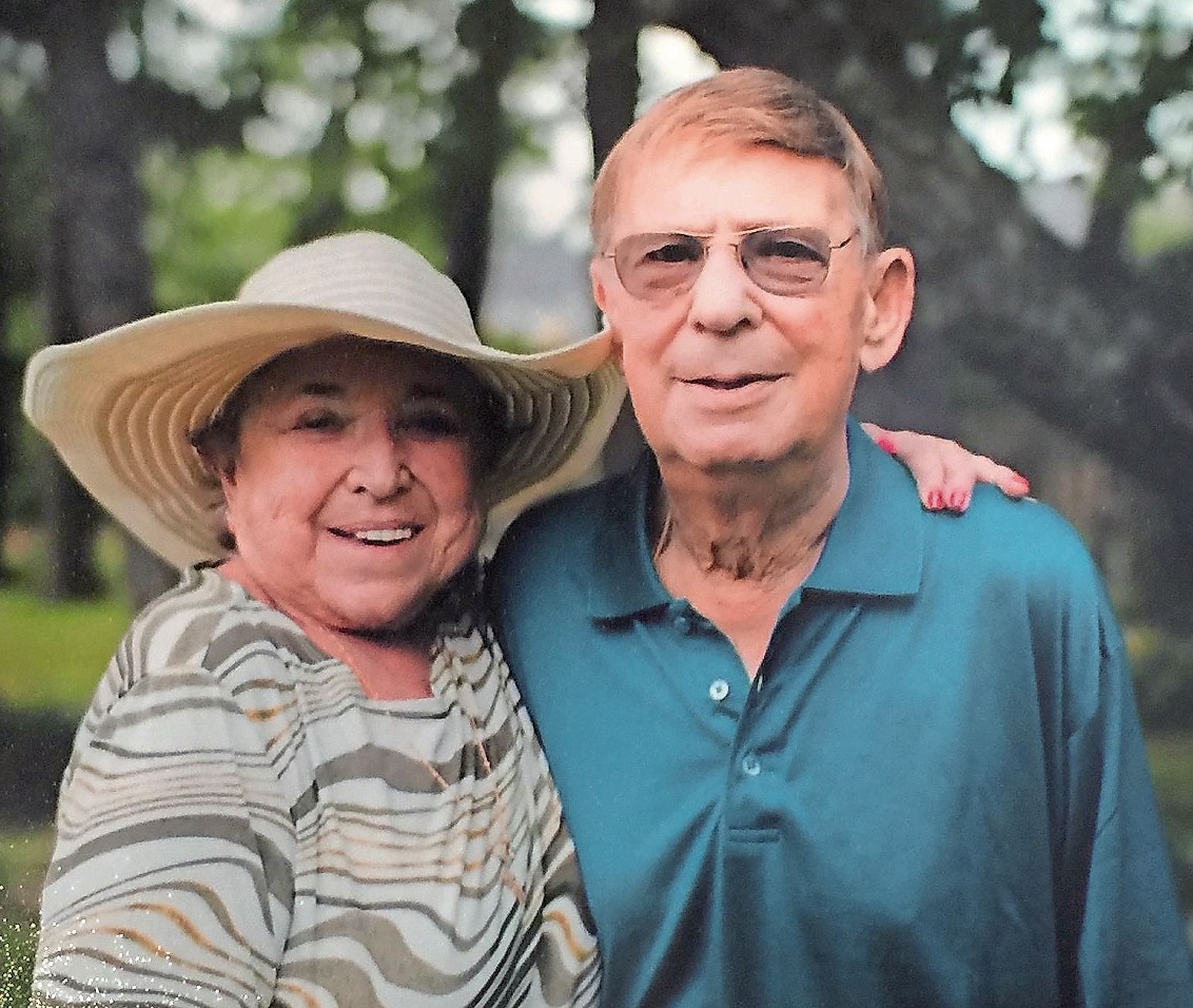 Joan and Harry Laufer in 2015. On Sunday, The Brandeis School campus will be renamed the Harry Laufer Jewish Educational Campus.