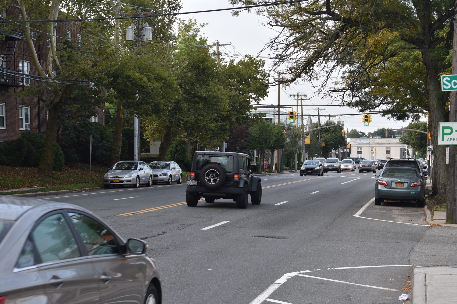 Nassau County Legislator Debra Mulé said she supported a proposal to reduce the number of lanes along Grand Avenue from four to two — one in each direction.