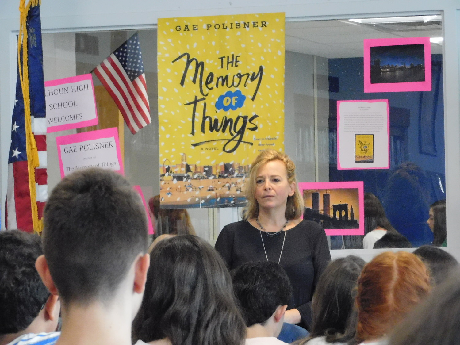 "Gae Polisner, author of ""The Memory of Things,"" said she wants young adults to put themselves in the shoes of her story's protagonist, who experienced 9/11."