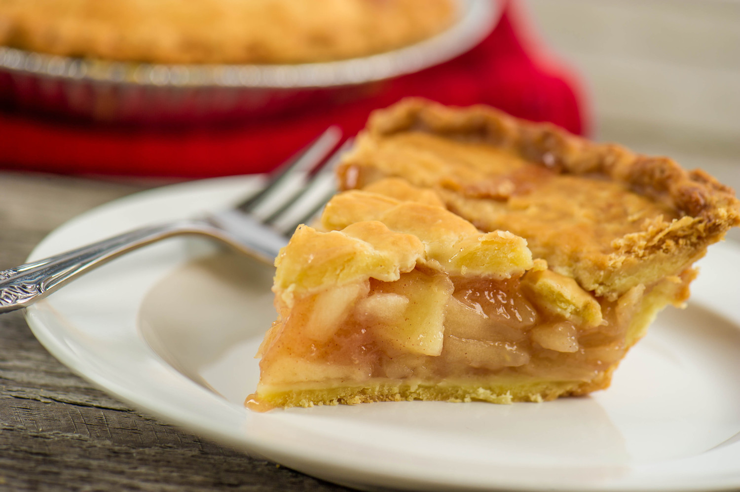 Apple pie is always welcome, whether as a scrumptious ending to a meal or anytime in between.