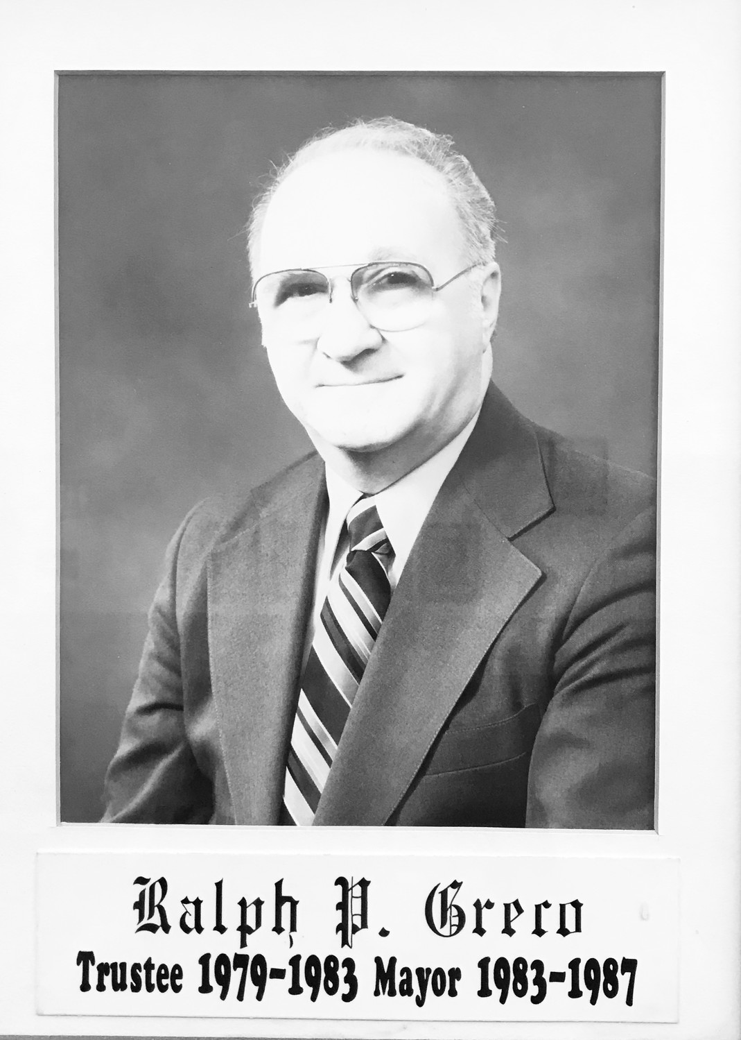 Ralph Greco served as mayor of Valley Stream from 1983 to 1987.