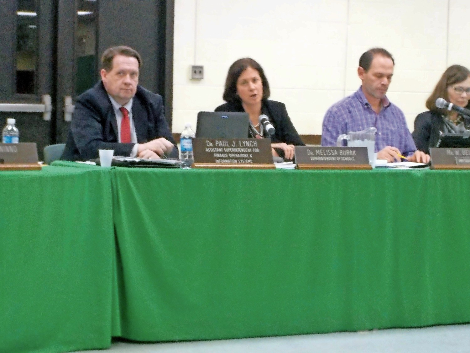 The Lynbrook Board of Education discussed Gov. Andrew Cuomo's executive order, which restores voting rights to individuals on parole.