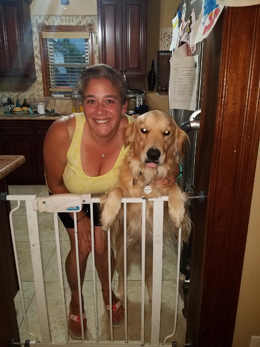 Baldwinite Danielle Cittadino leased her dog, Max, from Shake A Paw in Lynbrook but thought she was financing him. A new law, signed by Gov. Andrew Cuomo on Sept. 24, bans the practice of pet leasing.