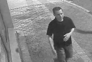 Police released this image of the man who allegedly vandalized the Phoenix Diner in Merrick on Aug. 1.