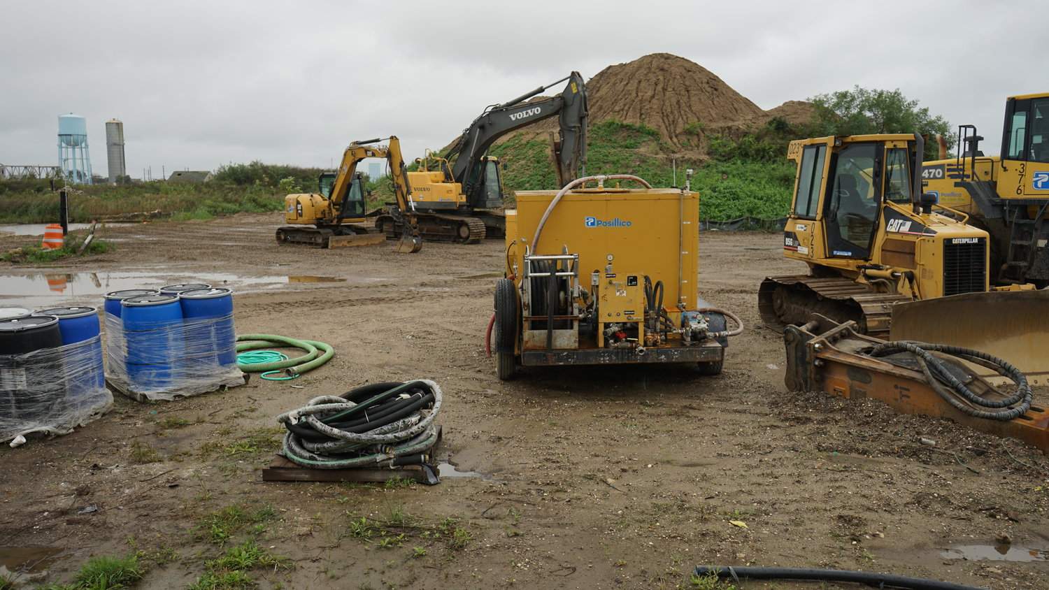 Soil cleanup at the former Cibro Petroleum site is slated to begin in mid-October, according to the State Department of Environmental Conservation.