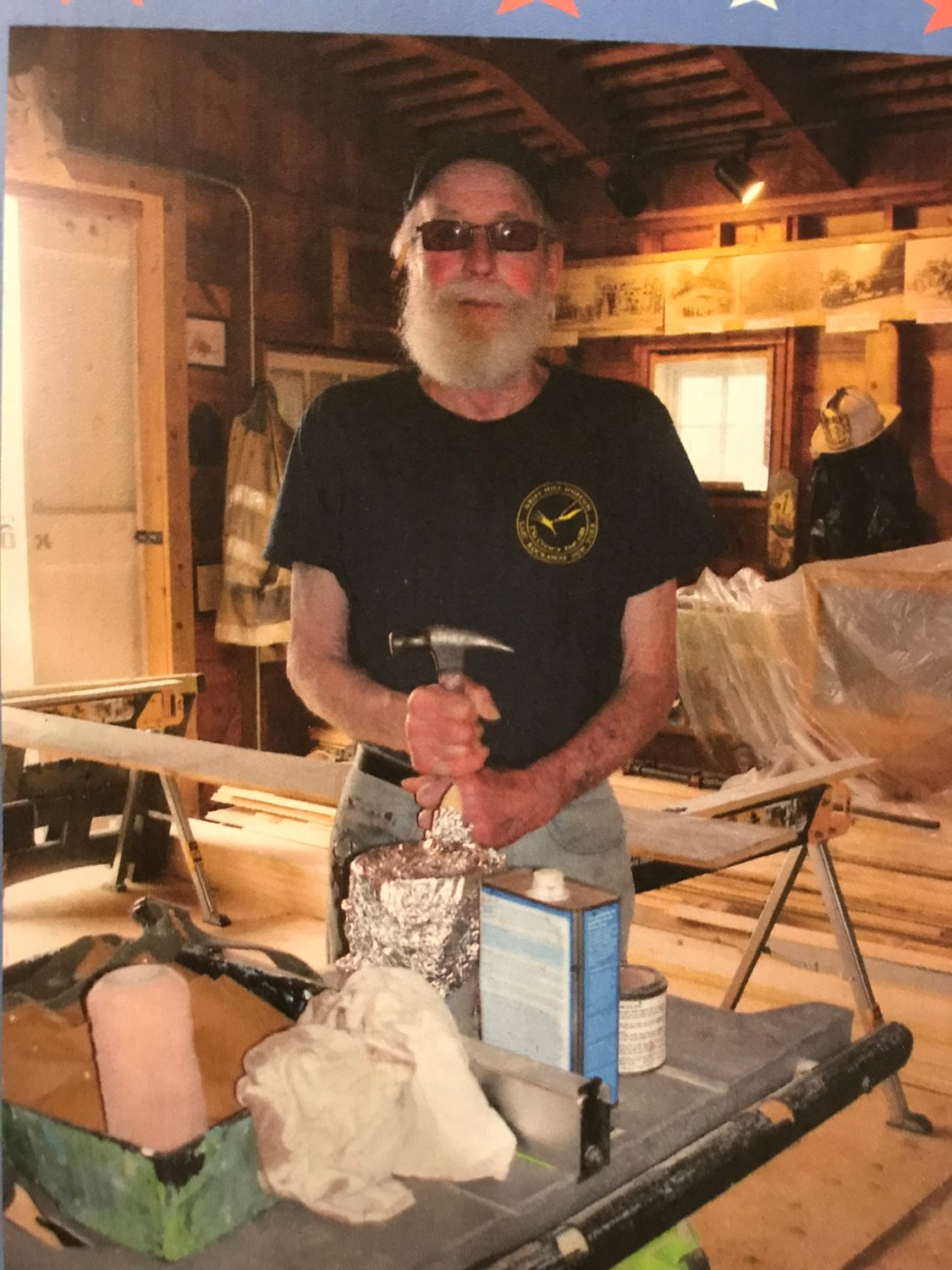 "Dan Warren, nicknamed the ""Wood Doctor,"" has joined the East Rockaway Department of Public Works' maintenance staff to implement the repairs at the museum."