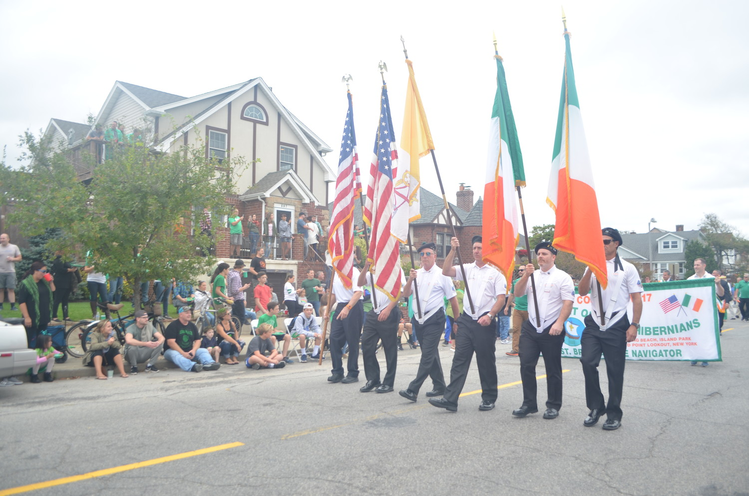 Thousands of people lined West Beech Street to cheer on the 29th annual Saint Brendan the Navigator Irish Heritage Day Parade on Saturday.