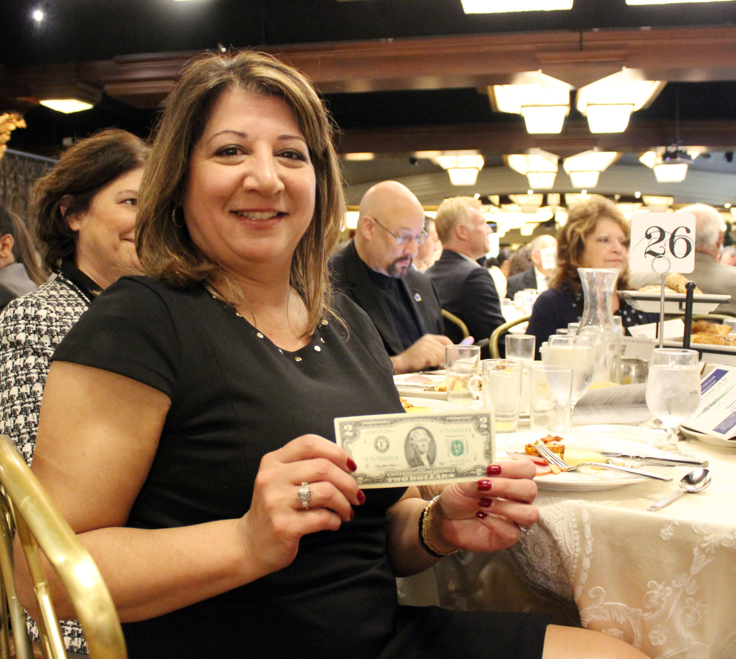 Rosemary Basmajian was named East Meadow's Businessperson of the Year at the Nassau Council of Chambers of Commerce breakfast.