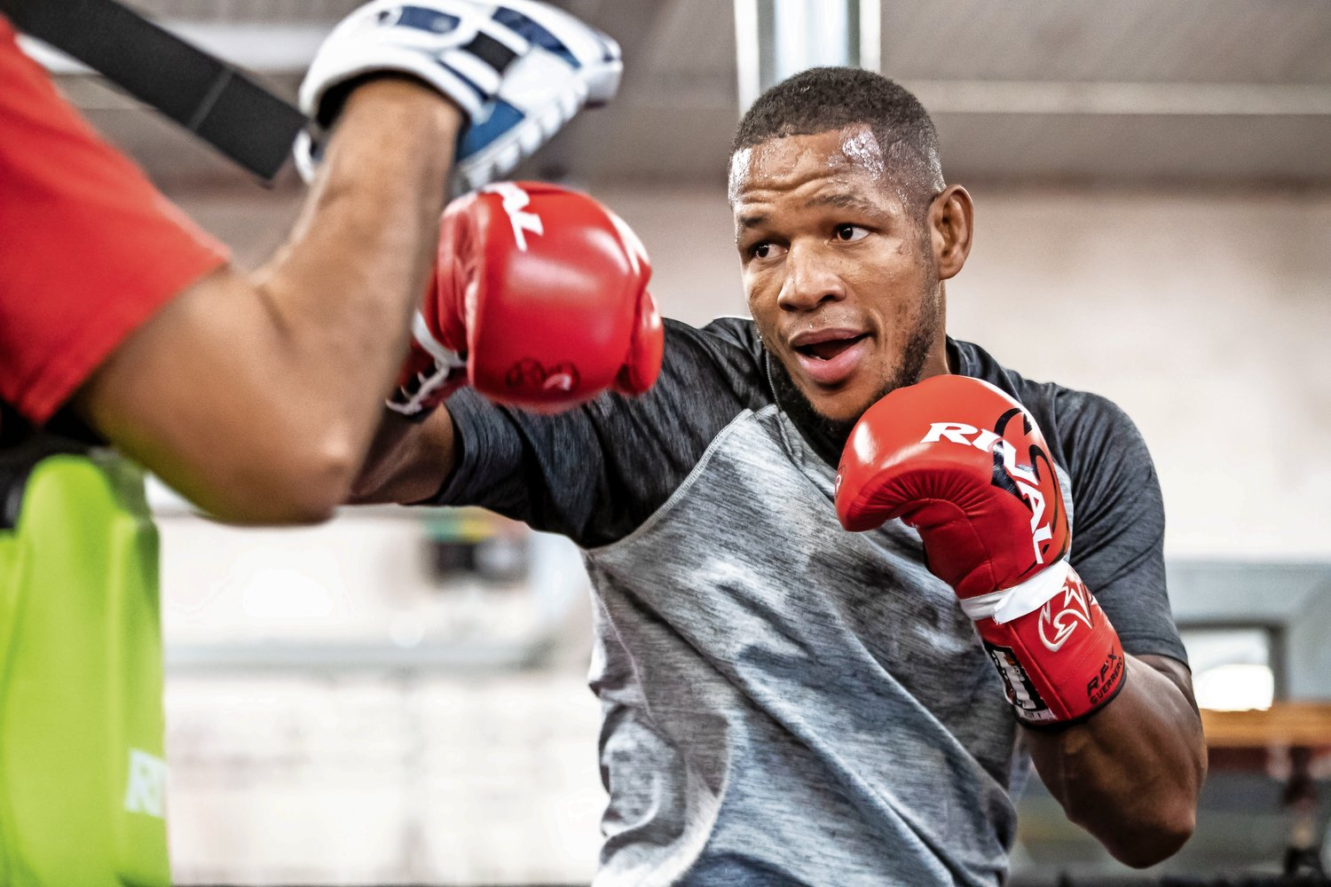Monaghan will take on Sullivan Barrera, pictured, in a 10-round bout that is the main event. The headline fight will be streamed live on Facebook Watch via the Golden Boy Fight Night Page beginning at 9 p.m.