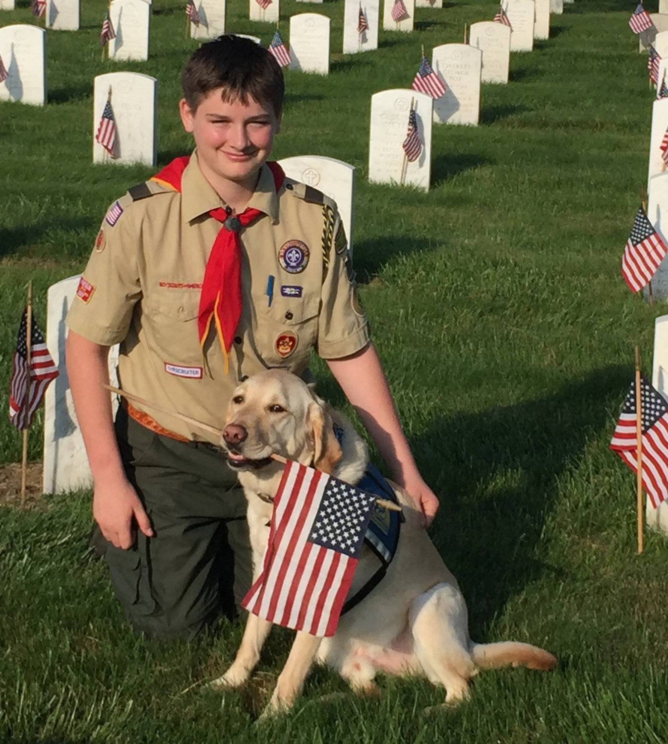 Luke is in the final stages of work for Eagle Scout rank. It is unlikely he would have gotten as far as quickly without Dragon's help and support.
