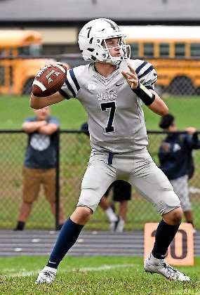 Freshman Charlie McKee aired it out 55 times last Sunday, totaling 320 yards and two scores in Oceanside's 31-15 defeat to Massapequa.