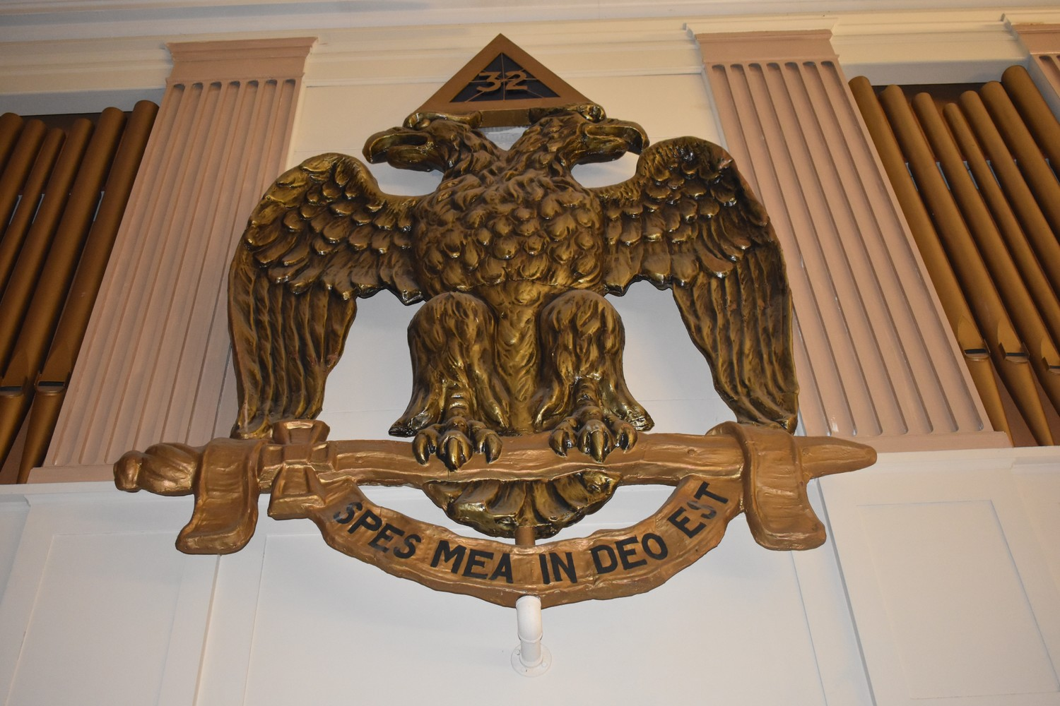 The double-headed Eagle of Lagash is used as an emblem by the Scottish Rite of Freemasonry.