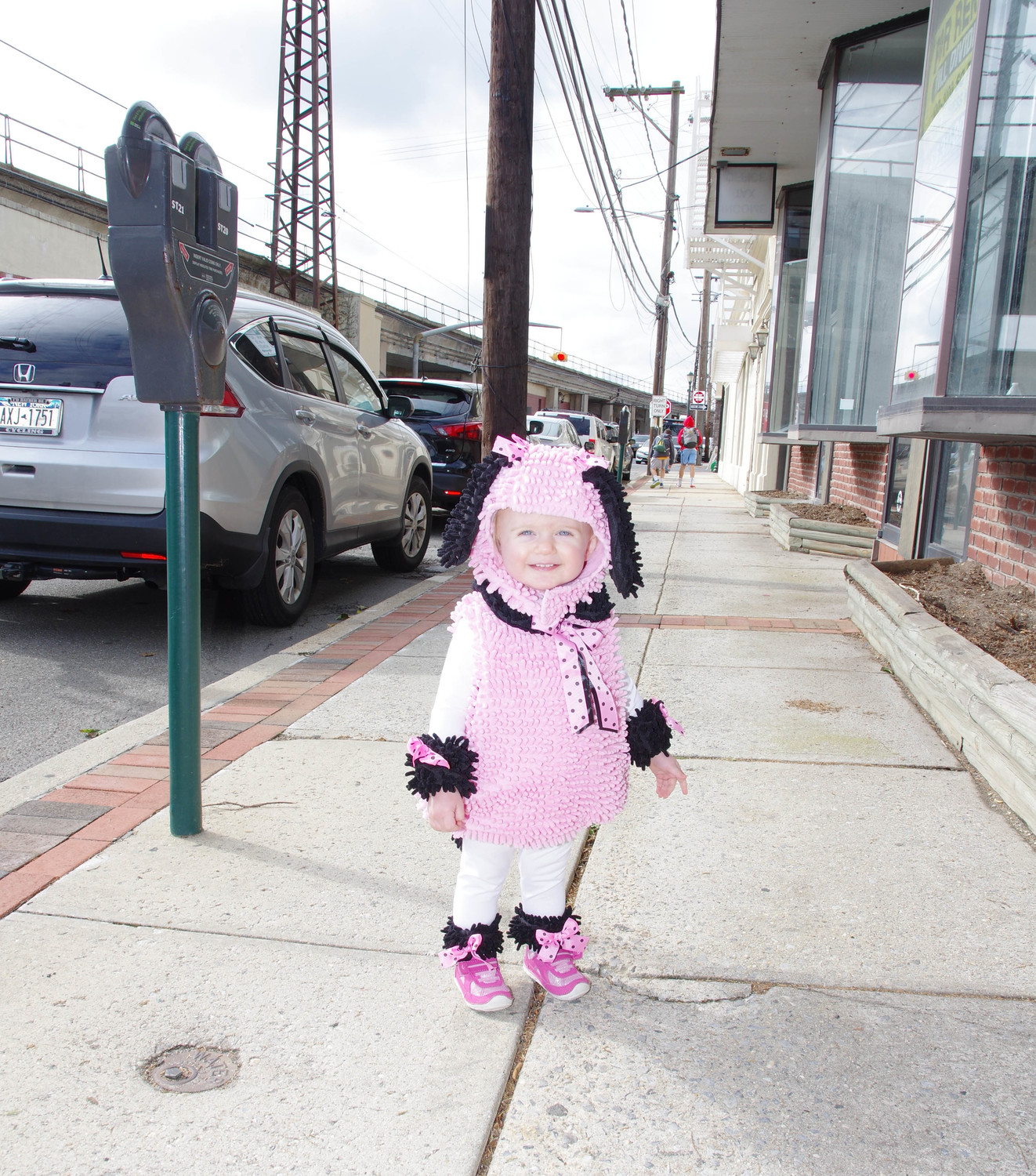 Ella Favichia, 18 months, was a contender for cutest costume.