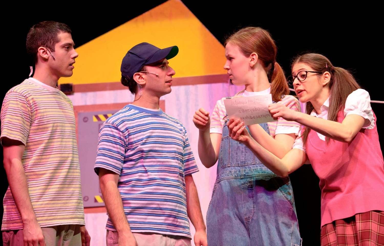 "Jigsaw Jones comes life on stage when the musical ""Jigsaw Jones and the Case of the Class Clown"" is performed at Adelphi University Performing Arts Center on Nov. 3."