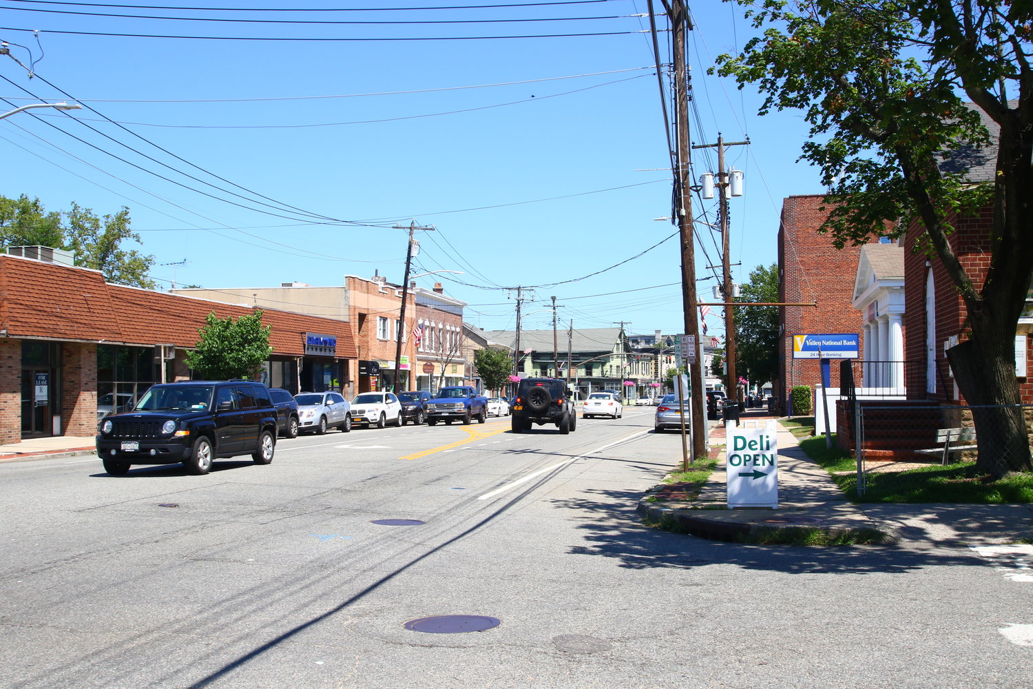 A $500,000 state grant will be used to improve Oyster Bay's downtown business district.