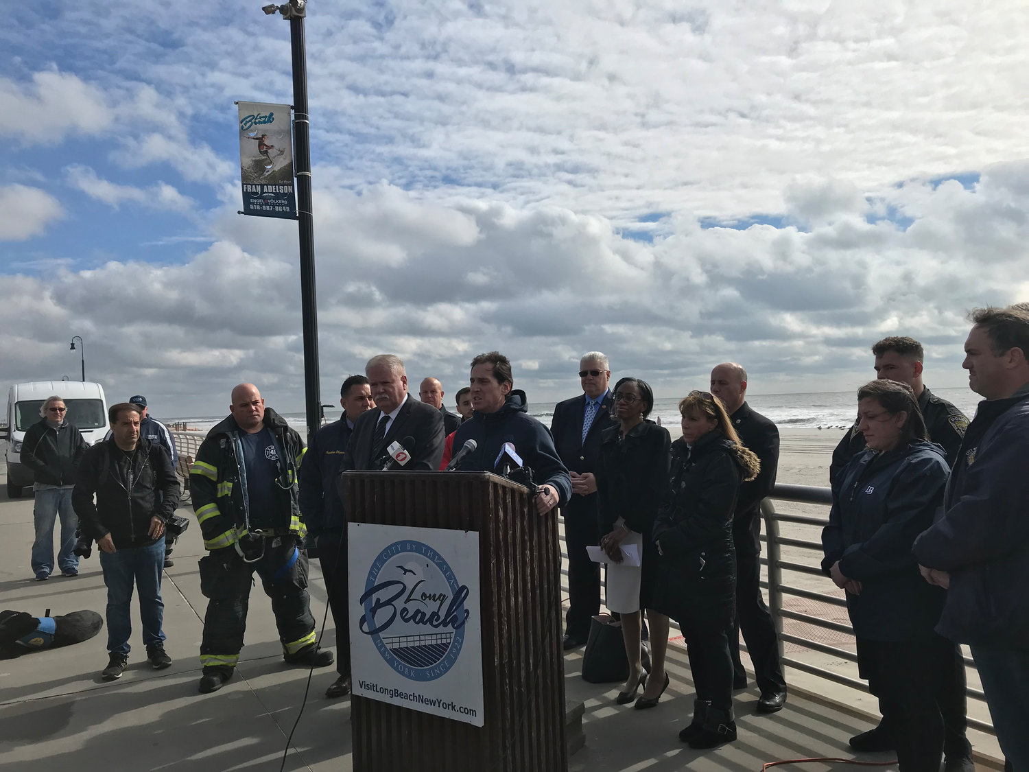 State Sen. Todd Kaminsky said that the community remains vulnerable to future storms and that many residents are still displaced.