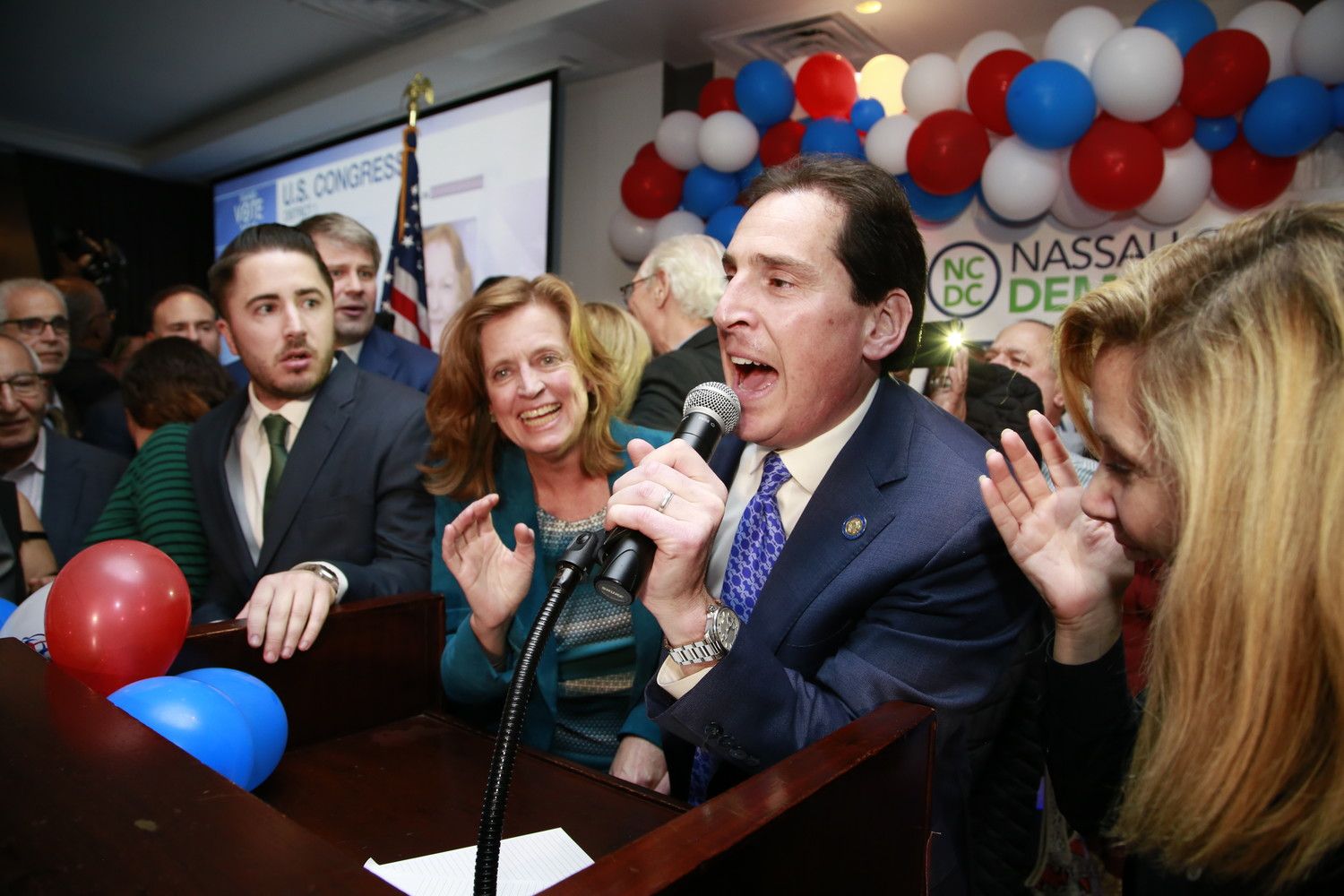 State Sen. Todd Kaminsky, a Democrat from Long Beach, was elected to another two-year term in the 9th Senate District on Tuesday.