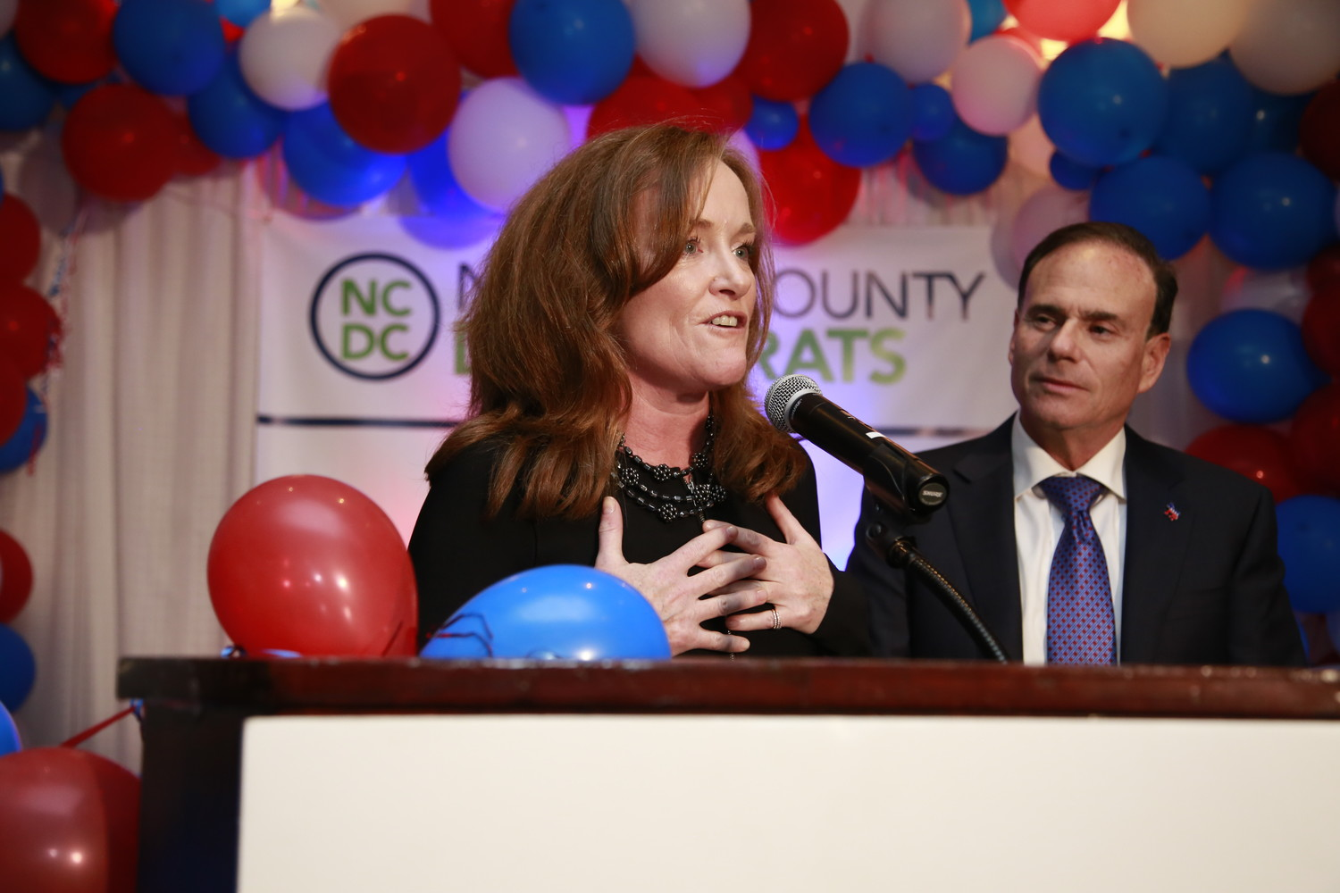 Incumbent U.S. Rep. Kathleen Rice, a Democrat from Garden City, won a third term representing New York's 4th Congressional District, defeating Republican Ameer Benno.