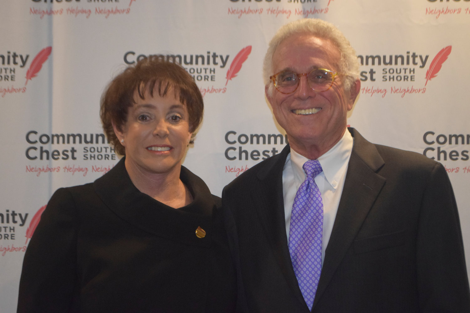 Woodmere residents Diane and Michael Rattner were the honorees at the Community Chest South Shore's Neighbors in Need fundraiser on Nov. 1.