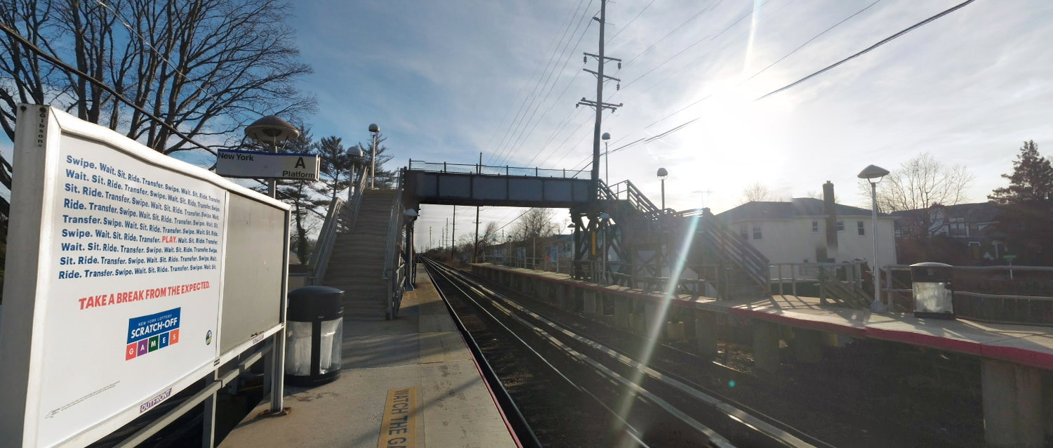 Work will begin to replace the pedestrian overpass at the Gibson train station on Nov. 10, closing tracks in both directions.