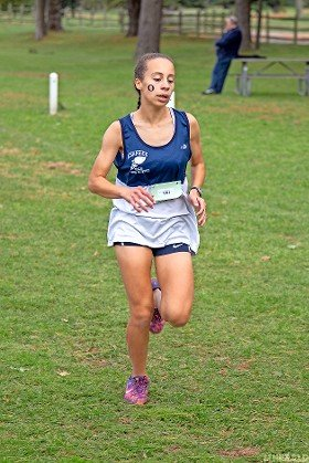 Oceanside senior Andria Scaglione won the Nassau Class A championship race on Oct. 28 at Bethpage State Park in 19:42.92.