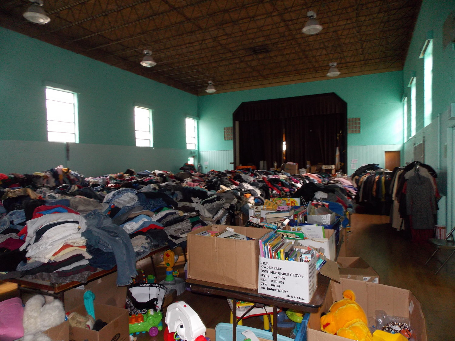 Bethany Congregational Church became a relief center for East Rockaway residents after Hurricane Sandy.