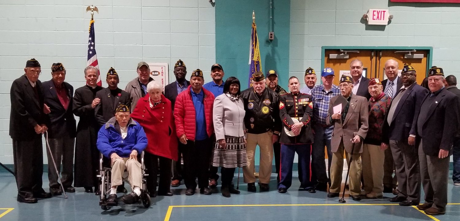 The American Legion William Clinton Story Post 342 from Freeport held their annual Veteran's Day observation ceremony at the Freeport Recreation Center on Nov. 12.