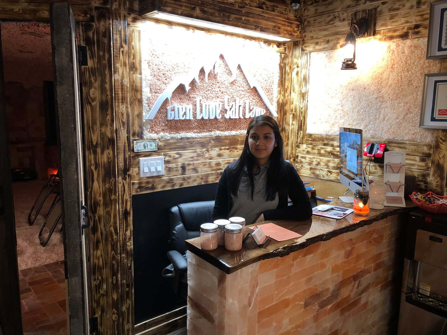 Glen Cove resident Yajhayra Reyes was inspired to open the city's very first salt cave after she struggled with eczema growing up.