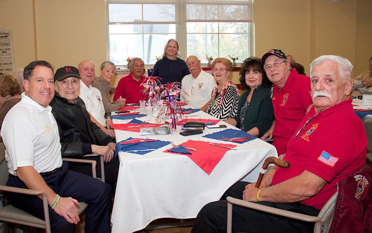 Veterans, their friends and the  staff of the Life Enrichment Center spent some quality time together at the Veterans Day celebration.