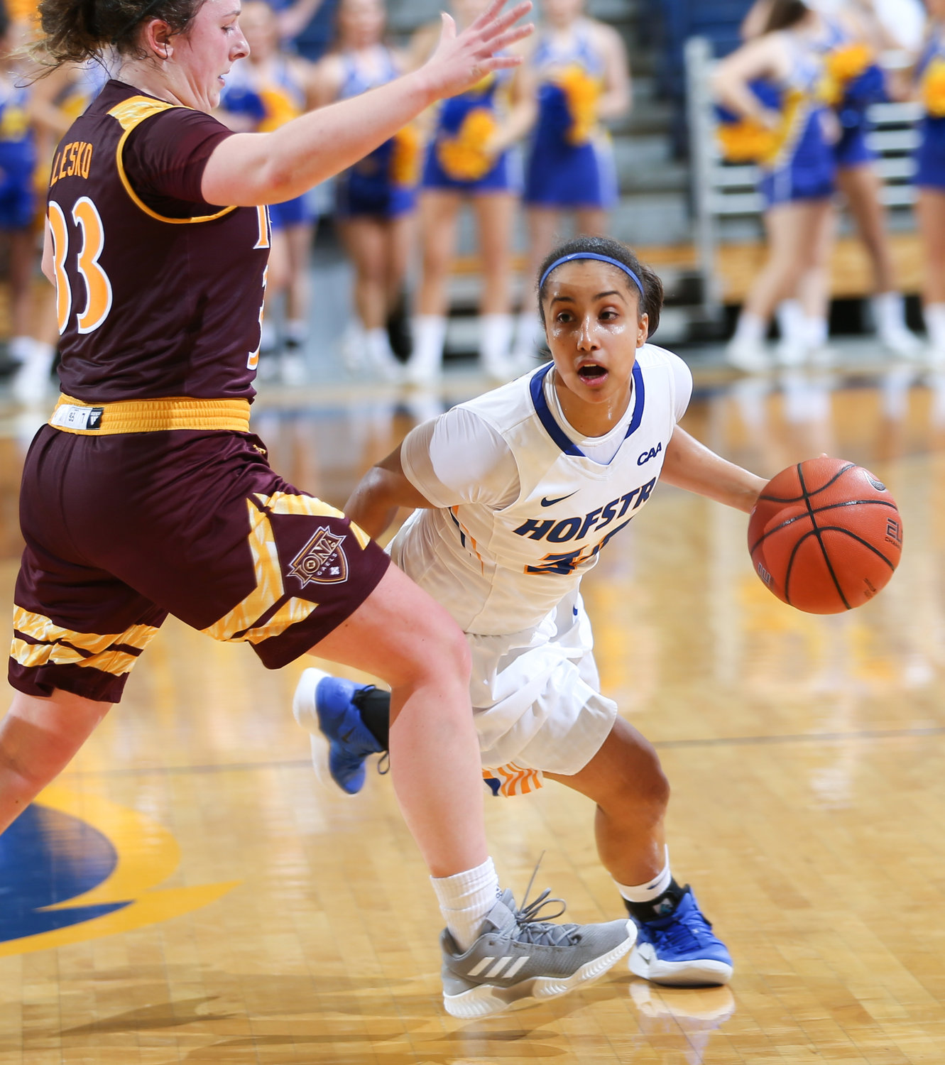 Former L.I. Lutheran star Boogie Brozoski averaged a team-high 13 points per game for the Lady Pride last season.
