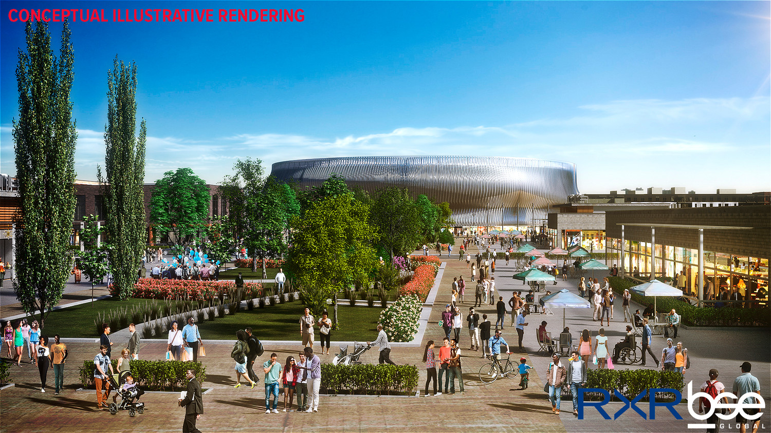 The proposed $1.5 billion commercial and residential plan to develop the land surrounding the Nassau Coliseum, known as the Nassau Hub aims to convert 60 acres of empty space into a walkable mixed-use downtown.