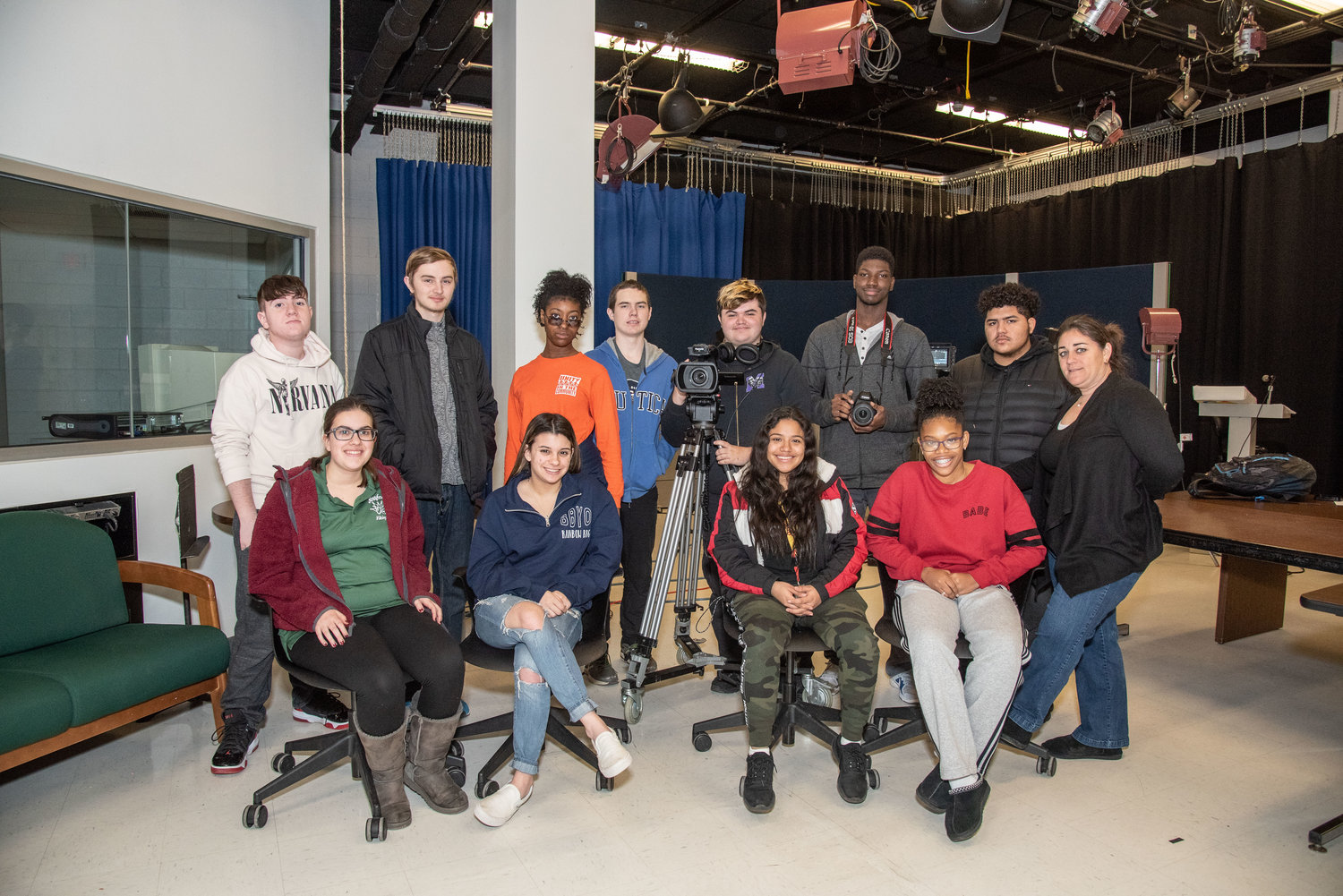 Nassau BOCES Barry Tech's video production students worked on a tribute video for Nassau County Police Commissioner Patrick Ryder.