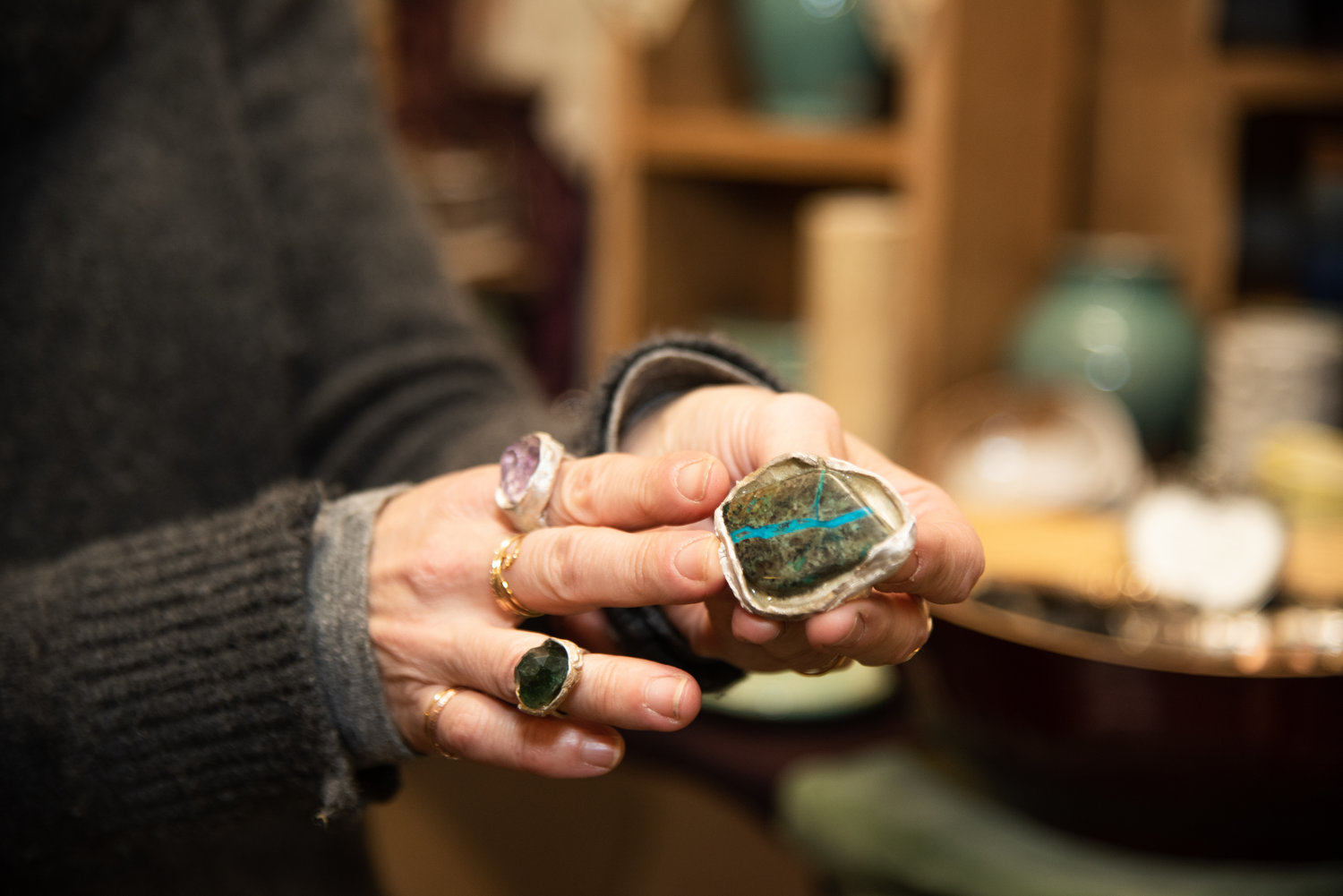 Residents looking to give the perfect gift this holiday can head to Peace Soap Studio to shop from an array of items, such as handcrafted goods, clothing and jewelry.
