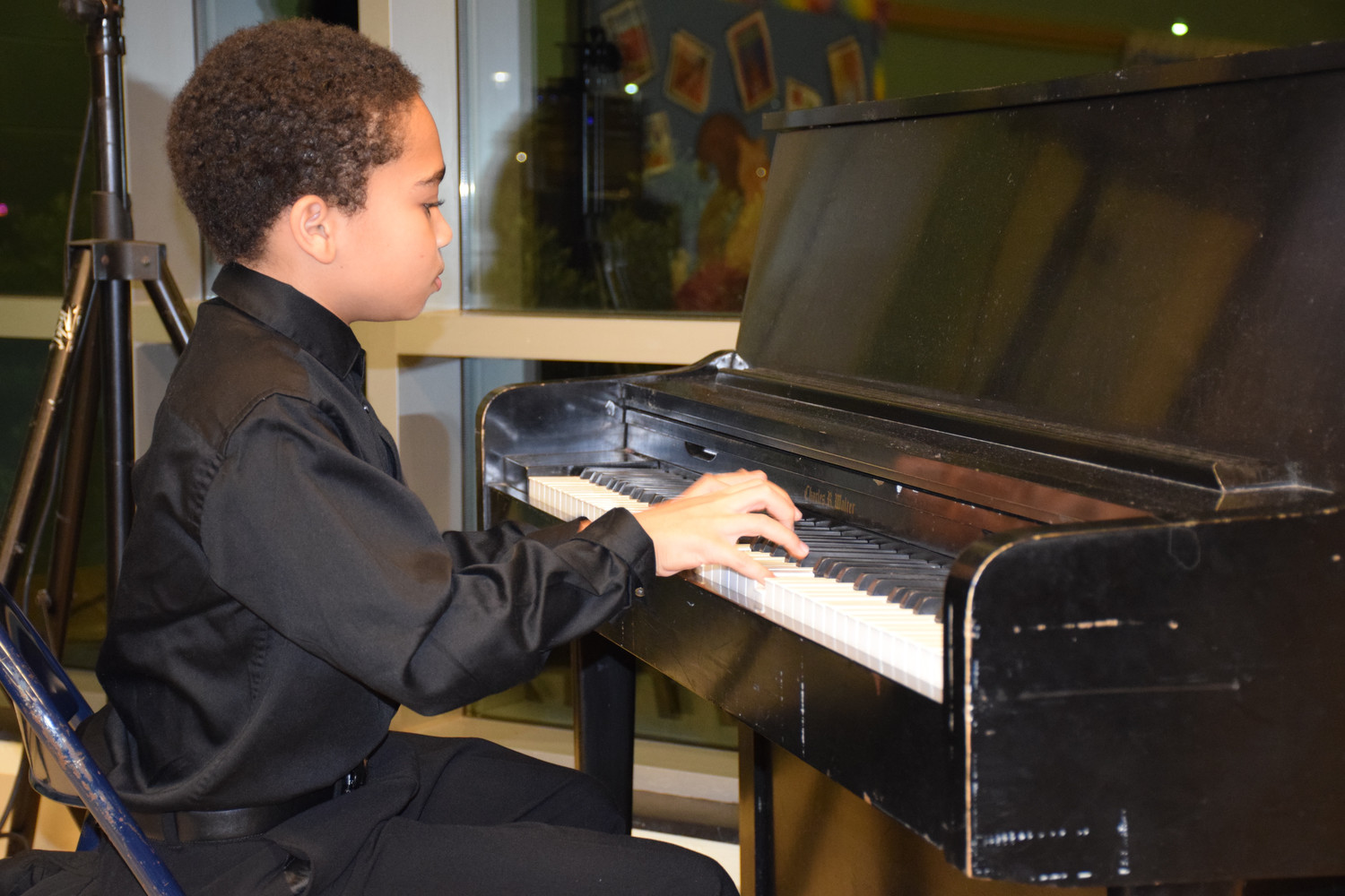 Long Beach Middle School student Jesse Hubbs is set to perform at the New York State School Music Association All-State Conference on Friday.