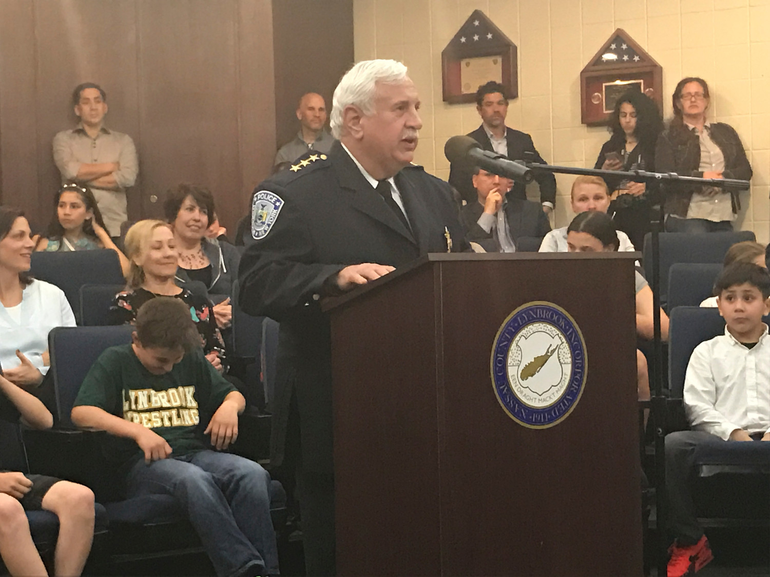 Lynbrook Police Chief Joseph Neve retired on Nov. 29 after 41 years of serving the village — 27 as the department's top cop.