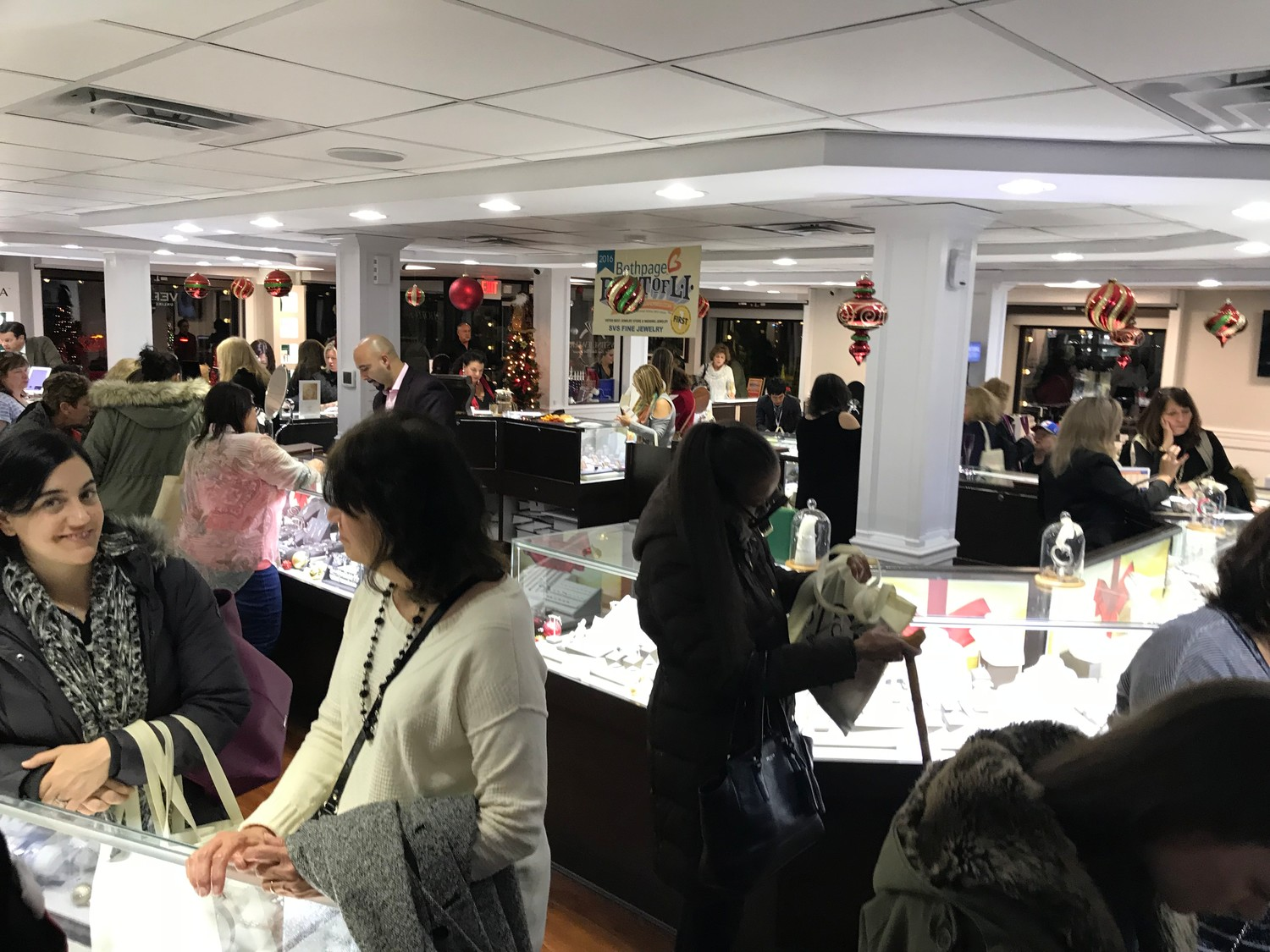 SVS Fine Jewelry in Oceanside was set to host its annual Ladies' Night fundraiser on Dec. 6. Proceeds were to be donated to Cohen's Children's Medical Center.
