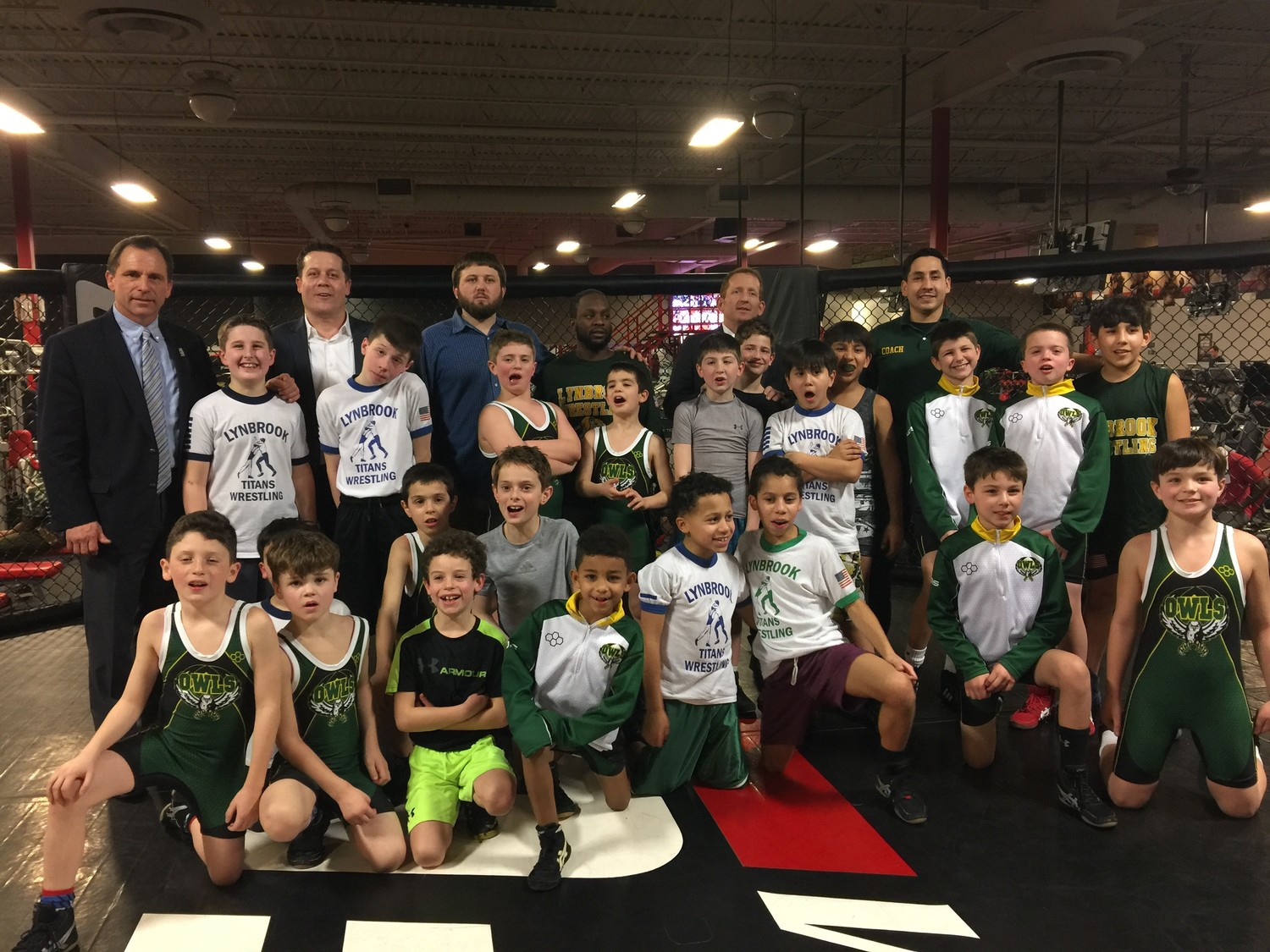 The Lynbrook Titans Wrestling program is kicking off its 39th season on Dec. 8.