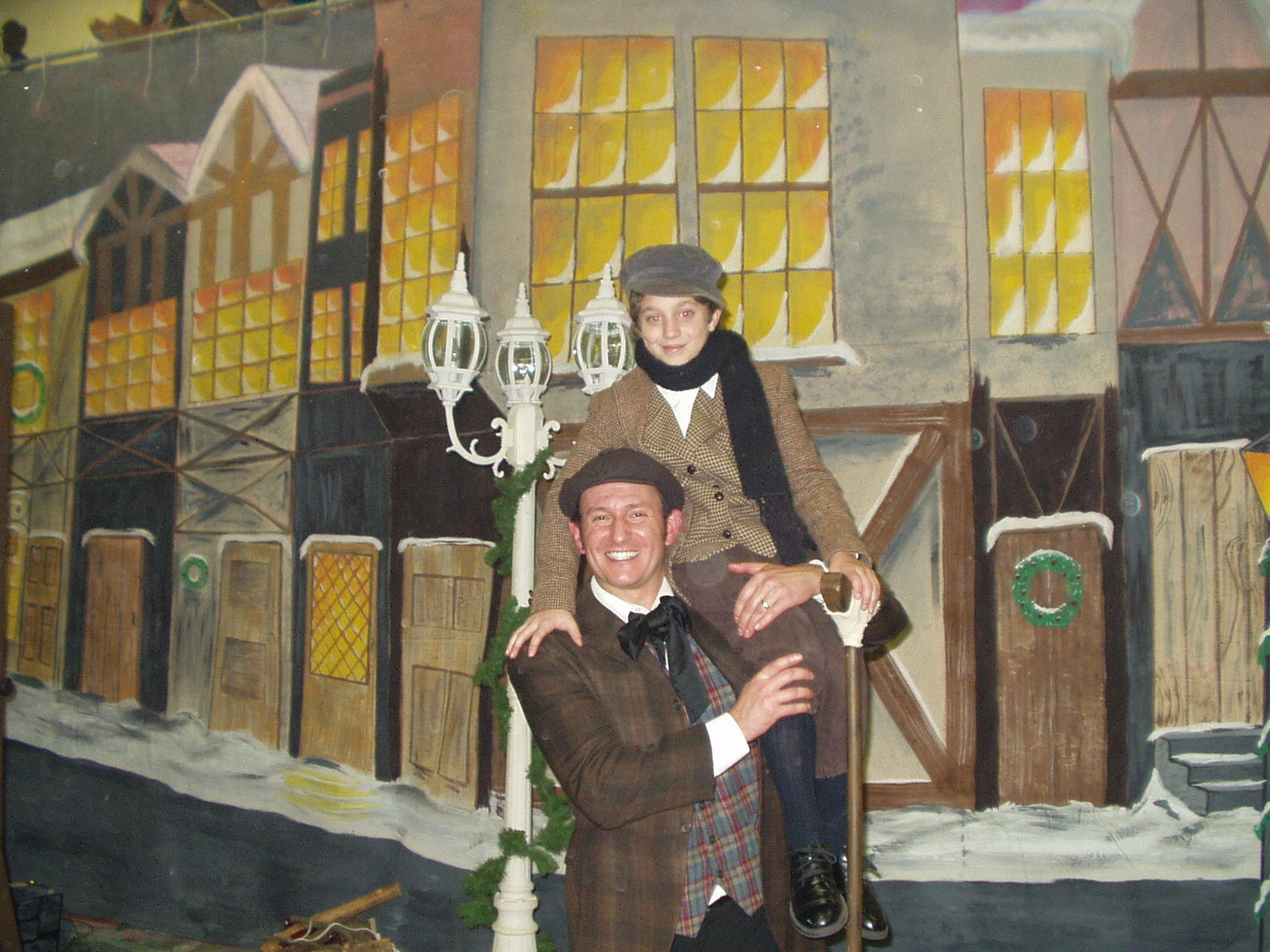 "Plaza Theatrical Productions celebrates the season with its production of ""Scrooge."" It's staged in Bellmore on Dec. 16."