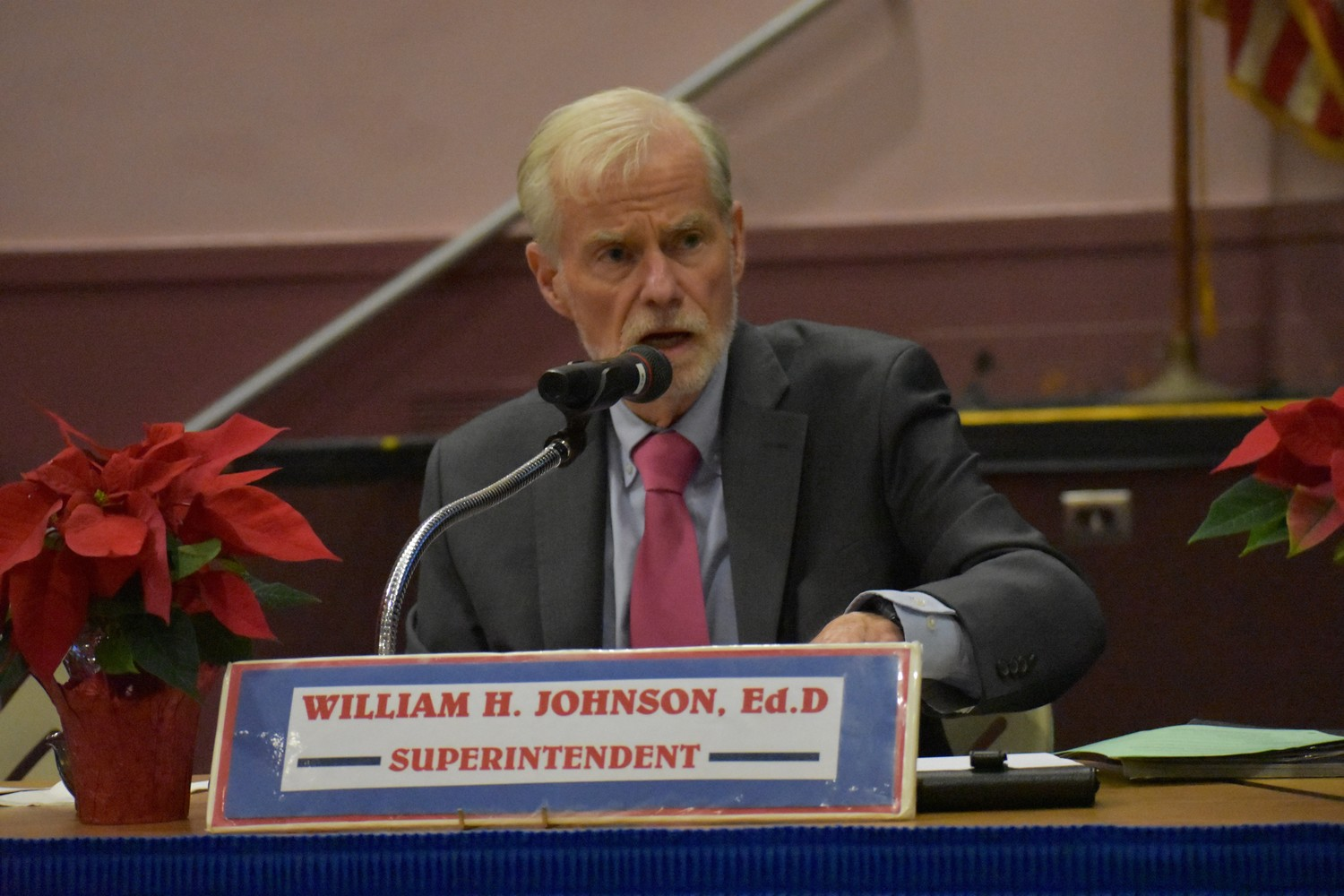 Superintendent Dr. William Johnson said that integrating different students into one classroom benefits everyone.