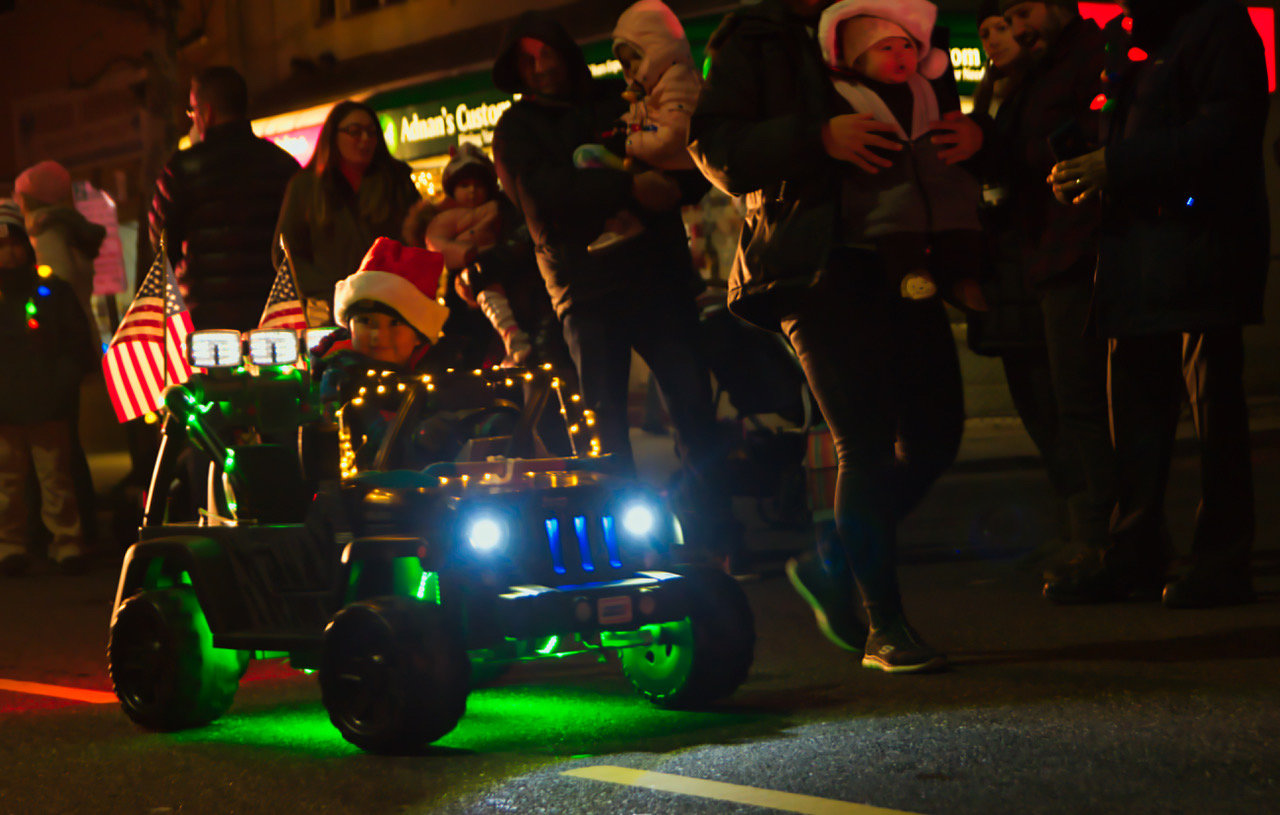 The parade — which is a collaborative effort between the Chamber of Commerce, city and the Parks and Recreation Department — continues strong as a way to revitalize the West End during the cold months, residents and officials said, and has become one of the most popular events of the year.