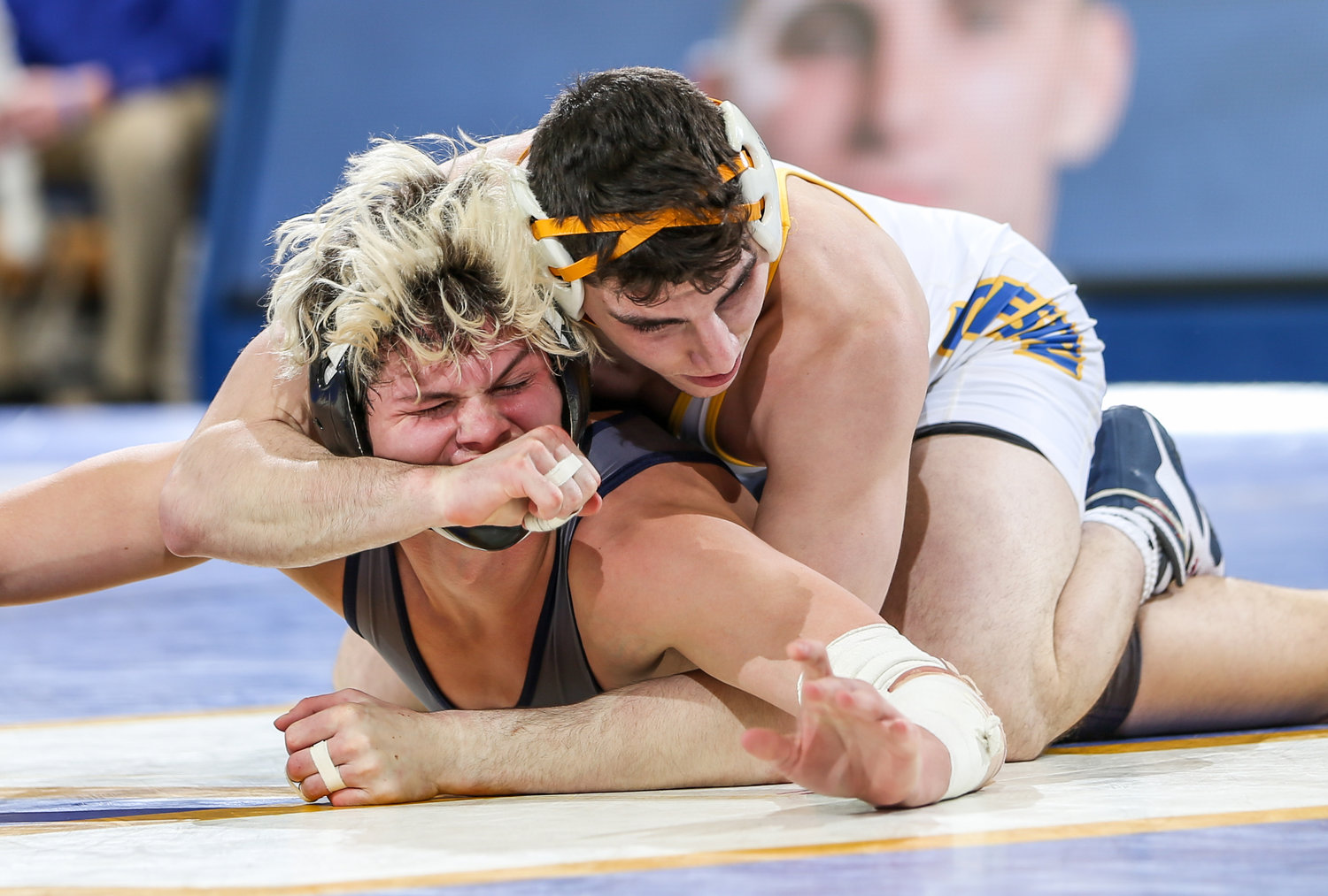 Sage Heller, top, won a dozen matches for the Pride last season and also took home a bronze medal from the 2017 Maccabiah Games in Israel.